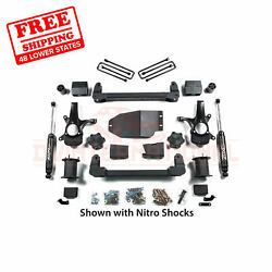 Zone 6.5 Front And Rear Suspension Lift Kit For Chevy 1500 Pickup 4wd 2007-2013