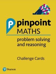 Pinpoint Maths Y1-6 Problem Solving And Reasoning Challenge Cards Pack Neuf Cott