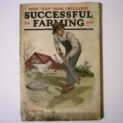 Successful Farming Magazine - February 1916 - 164 Pages - Many Ads