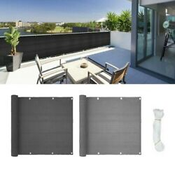 Privacy Screen Sunshade Thicken Uv Protection Yard 5m 90500cm Assemble Cover