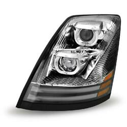 For Headlamp Assembly And Component 0 Left Trx Tled-h17