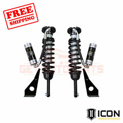 Icon Travel Remote Reservoir Front Coilover Shock Kit For Toyota 4runner 2010-19