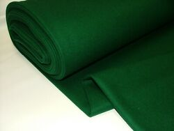 80 Wool High Quality Green Baize Fabric To Recover Playing Card Bridge Tables