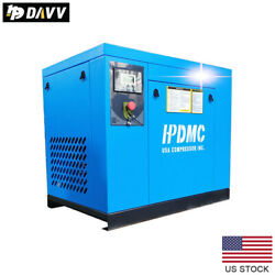 7.5 Hp 3 Phase Rotary Screw Air Compressor 230v 125-150psi 29-25cfm Industrial