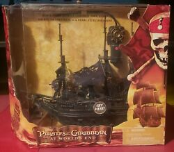 Pirates Of The Caribbean At World's End Black Pearl Rc Pirate Ship Nib Remote