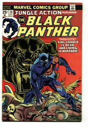 Jungle Action 10 1974 Black Panther Issue - Comic Book Vf/nm