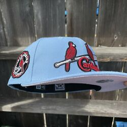 7 1/4 Pink Uv Hat Club Exclusive St Louis Cardinals 1934 World Series Fitted