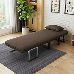 New Convertible Sofa Bed Folding Arm Chair Sleeper Leisure Recliner Lounge Couch