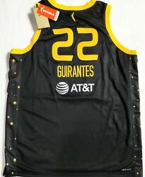 Nwt-52xl Arella Guirantes Los Angeles Sparks Authentic Victory Wnba Nike Jersey