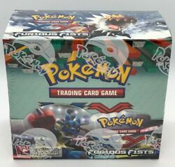 Pokemon Tcg Xy Series Furious Fists Booster Box 36 Packs Factory Sealed New