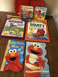 Lot Of Storybook Classics Sesame Street Elmo My First Story Reader Used