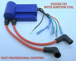 New Suzuki Outboard 32900-94421 Cdi Unit W/ Ignition Coil Dt40 40hp Boat Part