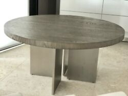 Restoration Hardware Channel Round Dining Table 60andrdquo