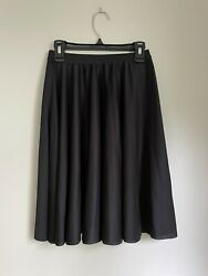 Body Wrappers Child Black Character Skirt Below The Knee Size 12 14 Youth