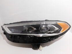 2017-2020 Ford Fusion Driver Lh Head Light Lamp Oem