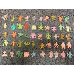 Neclos Fortress Keshi Figure Monster Rubber Doll 50 With Card Set Retro Vintage