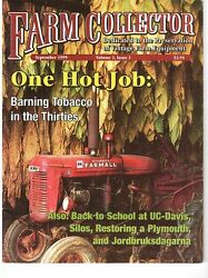 Early Silos - Curing Tobacco For Market - 1934 Plymouth Tractor Restoration