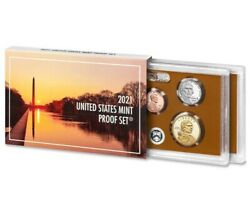 2021 U.s. Mint 7 Coin Proof Set W/ Box And Coa In Stock