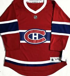 Nwt-youth L/xl Montreal Canadiens Nhl Licensed Premier Jersey French Version