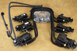 5000774 5000773 Evinrude 1999 Ficht Fuel Injectors And Manifolds 200 225 Hp V6