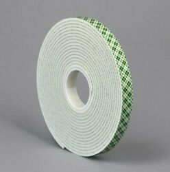 4008-2inx36yd - 1/8 Inch Thick Double Coated Foam Tape 2 X 36 Yd - Pack Of 6