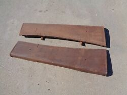 1936 Plymouth Coupe 2 Door Running Boards Solid Pair Dodge 1935
