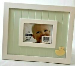 Burnes Baby Wainscoting Green Duck Picture Frame 3.5 X 5