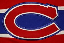 Vintage Guc Youth Red Kobe Montreal Canadiens Hockey Jersey Size L
