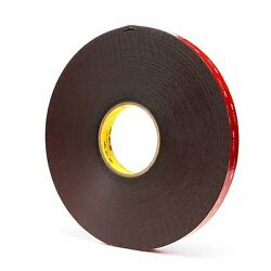 3m 59523/4inx36yd 45mil Blk Tape - Package Qty 12