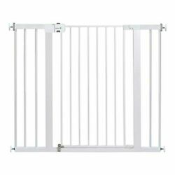 Safety 1st Easy Install Extra Tall Wide Baby Gate With Pressure Mount Fastening