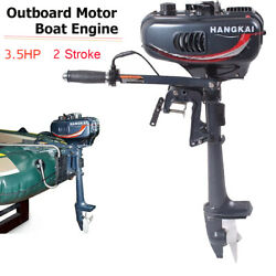 Outboard Motor 3.5hp 2-stroke Inflatable Fishing Boat Engine With Water Cooling