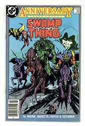 Swamp Thing Canadian Price Variant 50 Fn- 5.5 1986