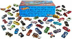 Hot Wheels 50-car Pack Of 164 Scale Vehicles Individually Multicolor