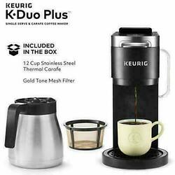 Keurig K-duo Plus Single Serve Compatible Coffee Maker With K-cup Pods