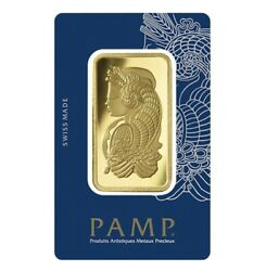 50 G. Gold Bar 999.9 Pamp Swizrland 24 Ct. With Certificate And Invoice