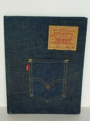 Vintage Levi Strauss And Co Blue Jeans Clipboard Now Designs American Binder 501