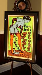 Original Mudhoney Clawhammer @ Metro Chicago - Kuhn Poster - Signed By Artist