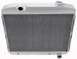 Champion Cooling Systems Cc57l6 All-aluminum Radiator 1957 Chevy Bel Air/del Ray