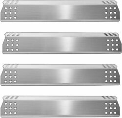 Kalomo Stainless Steel Grill Heat Plates Shield Burner Cover Flame...