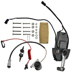 Remote Throttle Control Box And Ignition And Trim Switch Kit For Johnson And Evinrude