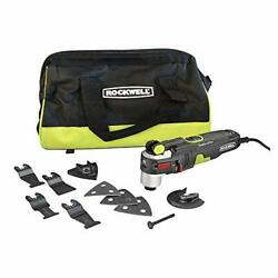 Rockwell Aw400 F80 Sonicrafter 4.2 Amp Oscillating Multi-tool With 9...