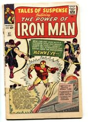 Tales Of Suspense 57 First Appearance Of Hawkeye Avengers Marvel Bargain Copy