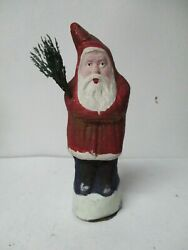 Nice 8 1/4 Tall - Germany Christmas Belsnickle Santa Claus