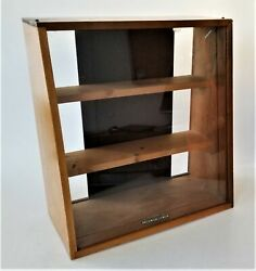 Vintage York Cutlery Co Pa Counter Knive Store Display Case Shelving 19.5x18.25