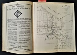 1949 Vintage Polkand039s Rochester Ny Directory W Maps Genealogy Names Addresses Ads