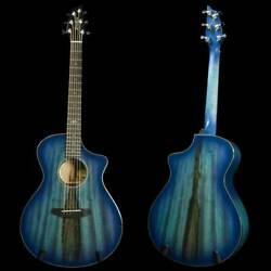 Breedlove Oregon Concert Blue Eyes Ce Limited Edition Acoustic Electric Guitar