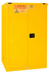 1090s-50 - Fsc - 90 Gal - 2 Sc Dr - 43inx34inx66-3/8in - No.50 Yel - Pack Of 1