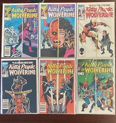 Kitty Pryde And Wolverine Complete Set, 1-6, Marvel Comics, 1984