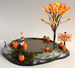 Department 56 Snow Village Halloween Animated Pumpkin Patch - With Box Bx629