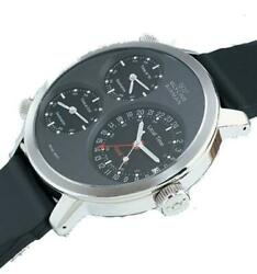 Watch Glycine Man 3829-19-d Mechanical Analogue Only Time Steel